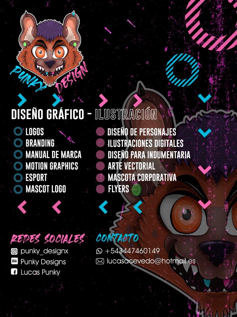 Diseñador gráfico e ilustrador digital