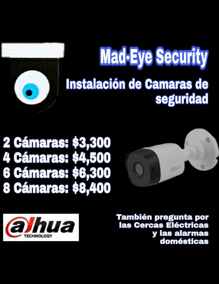 Instalación CCTV cámaras de seguridad