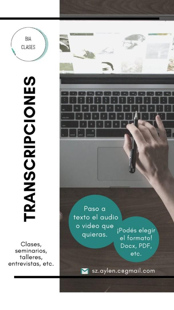 Transcripciones en español.