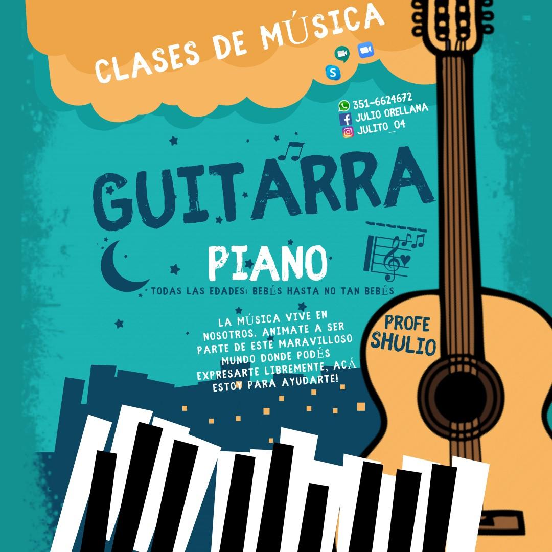 Clases de música (guitarra y piano)