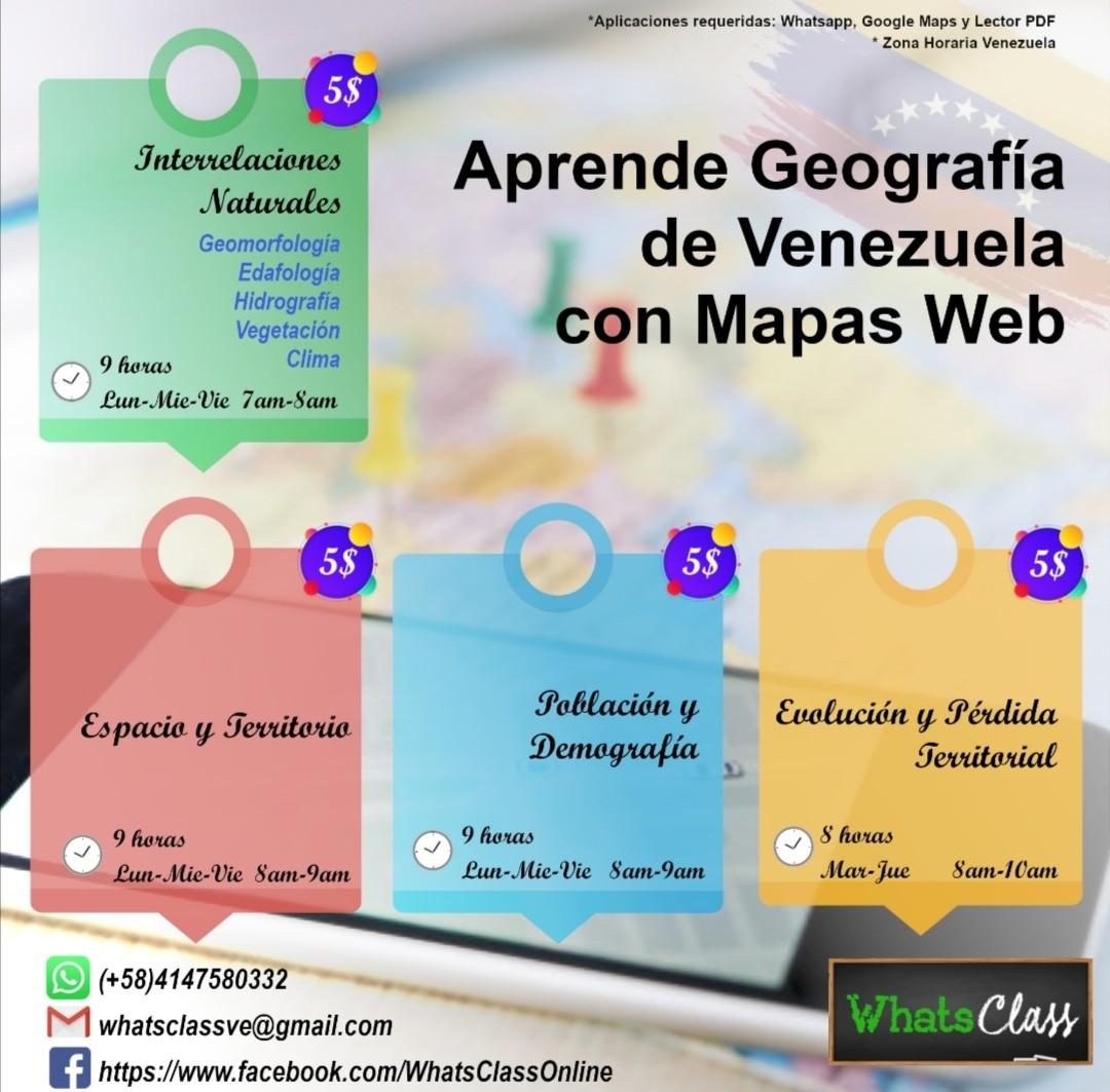 Aprende Geografía de Venezuela con Mapas Web