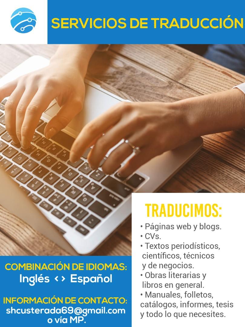 Traductora ingles-español y español-ingles