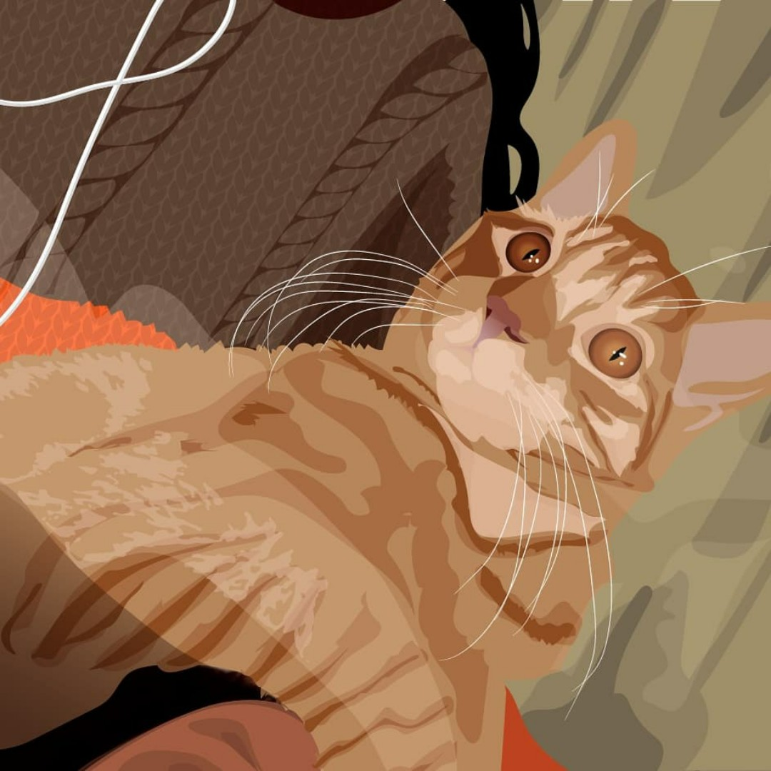 Ilustración mascota/ pet illustration