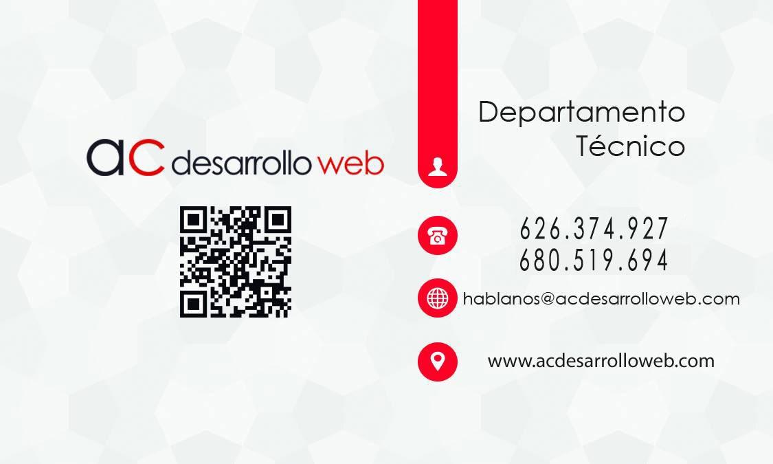 Programador págs. web, tiendas online, logo.