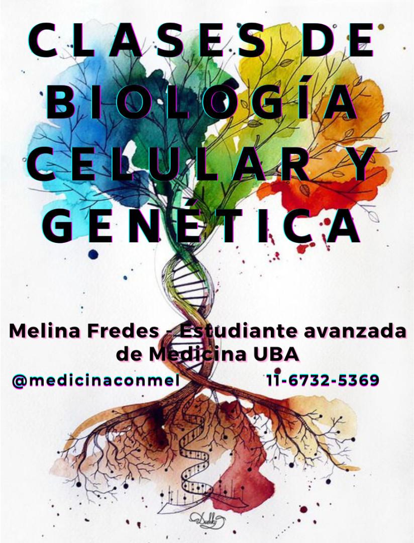 Clases online de Biología celular y Genética