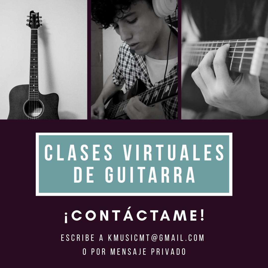 Profesor de teoría musical y Guitarra / clases virtuales