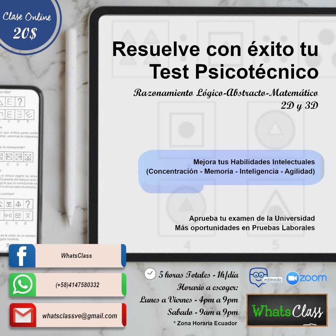 Resuelve con éxito tu Test Psicotécnico