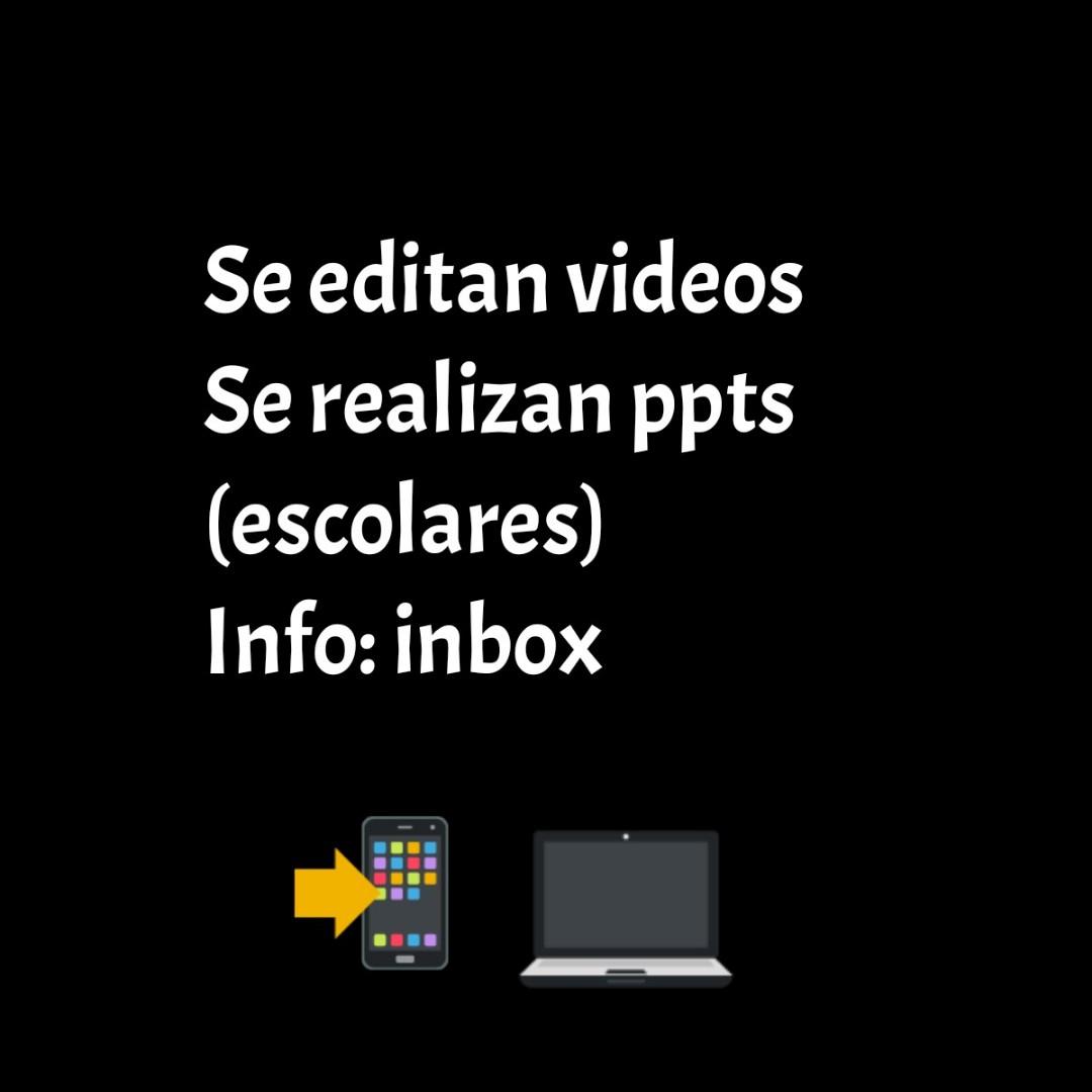 Edición de vídeos