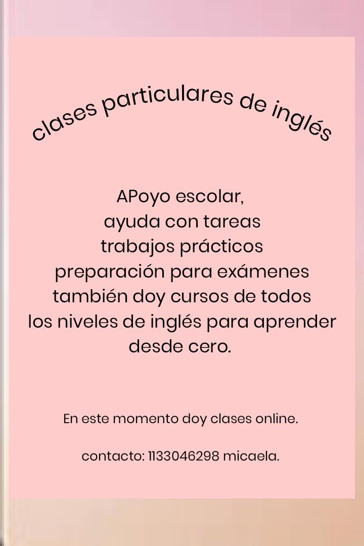 clases y cursos de inglés online
